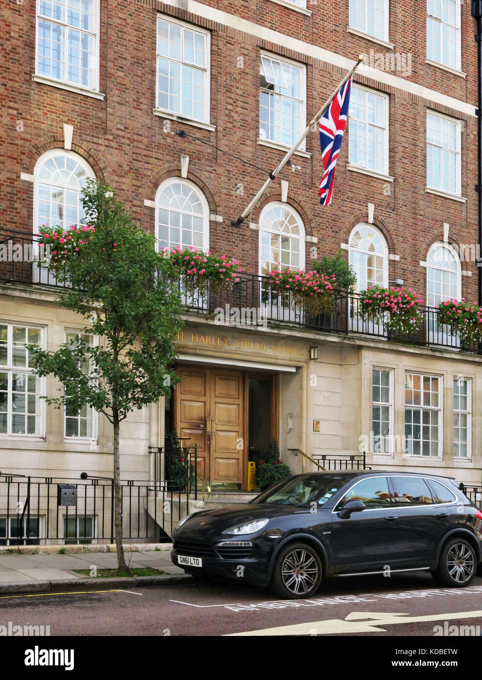 Harley Street Clinic, London - Stock Image