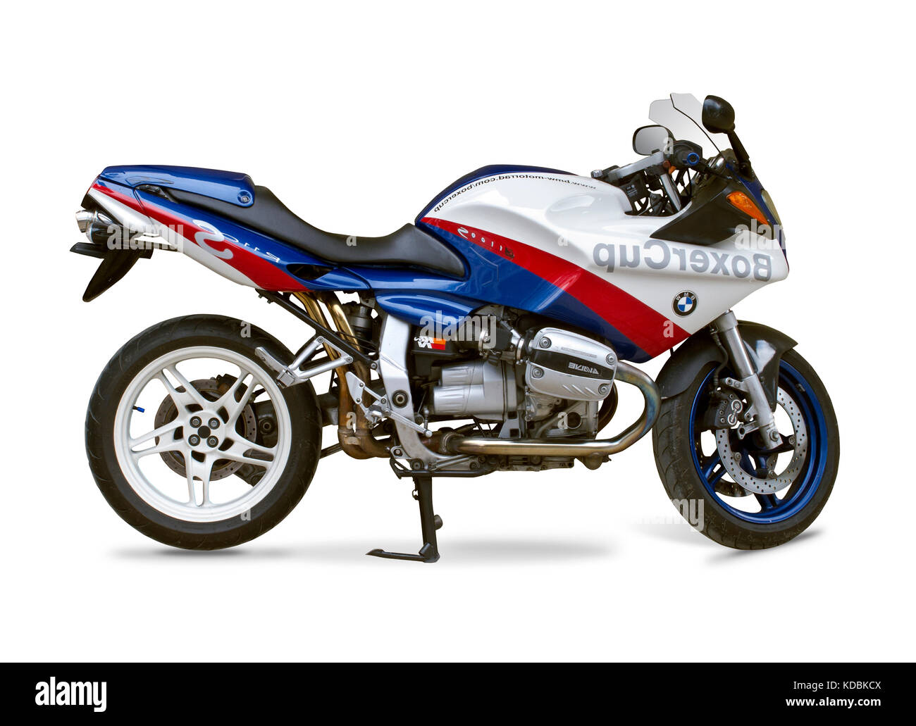Bmw Motorcycle Isolated On White Stock Photo Alamy