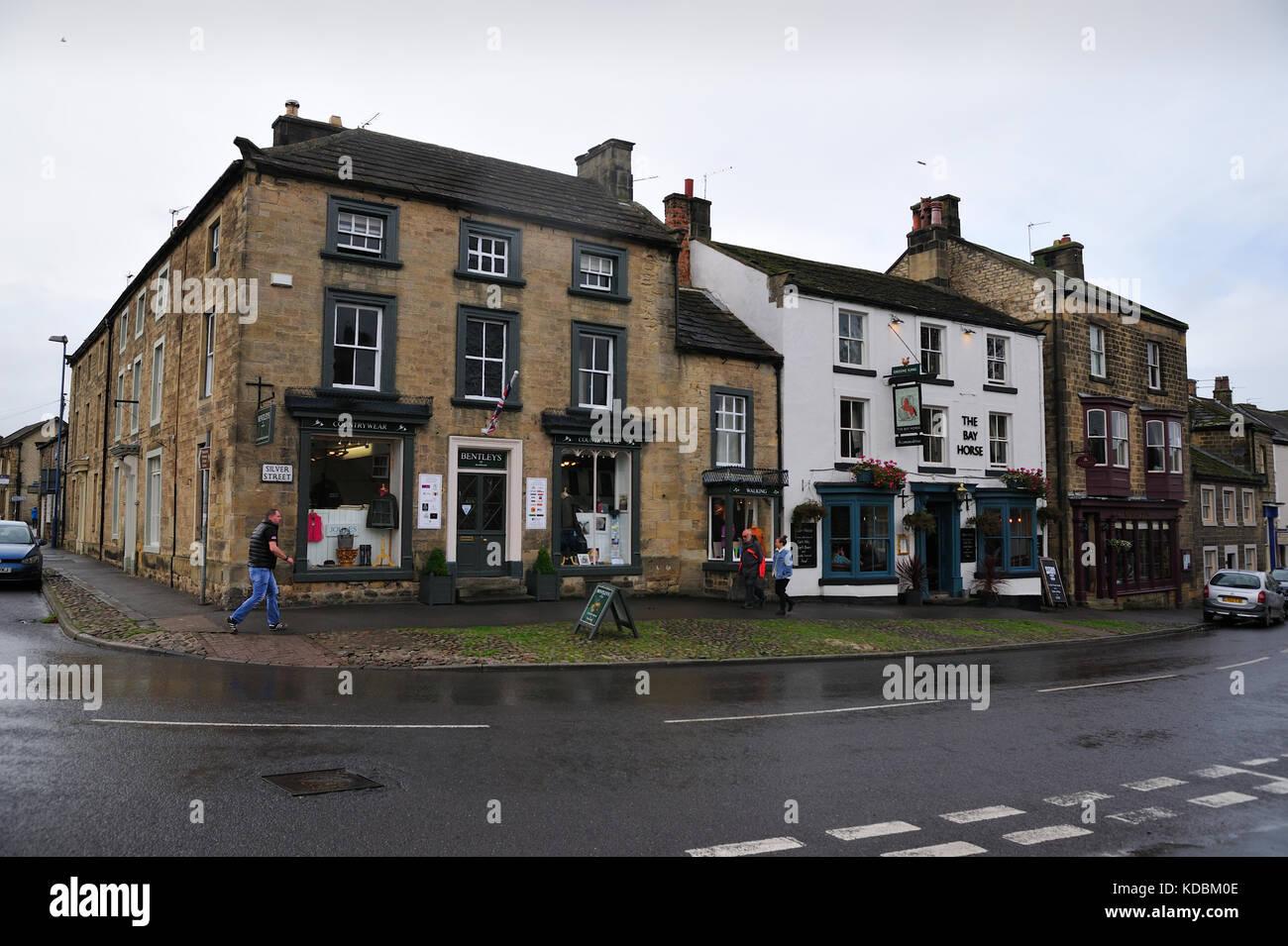 Masham North Yorkshire UK - Stock Image