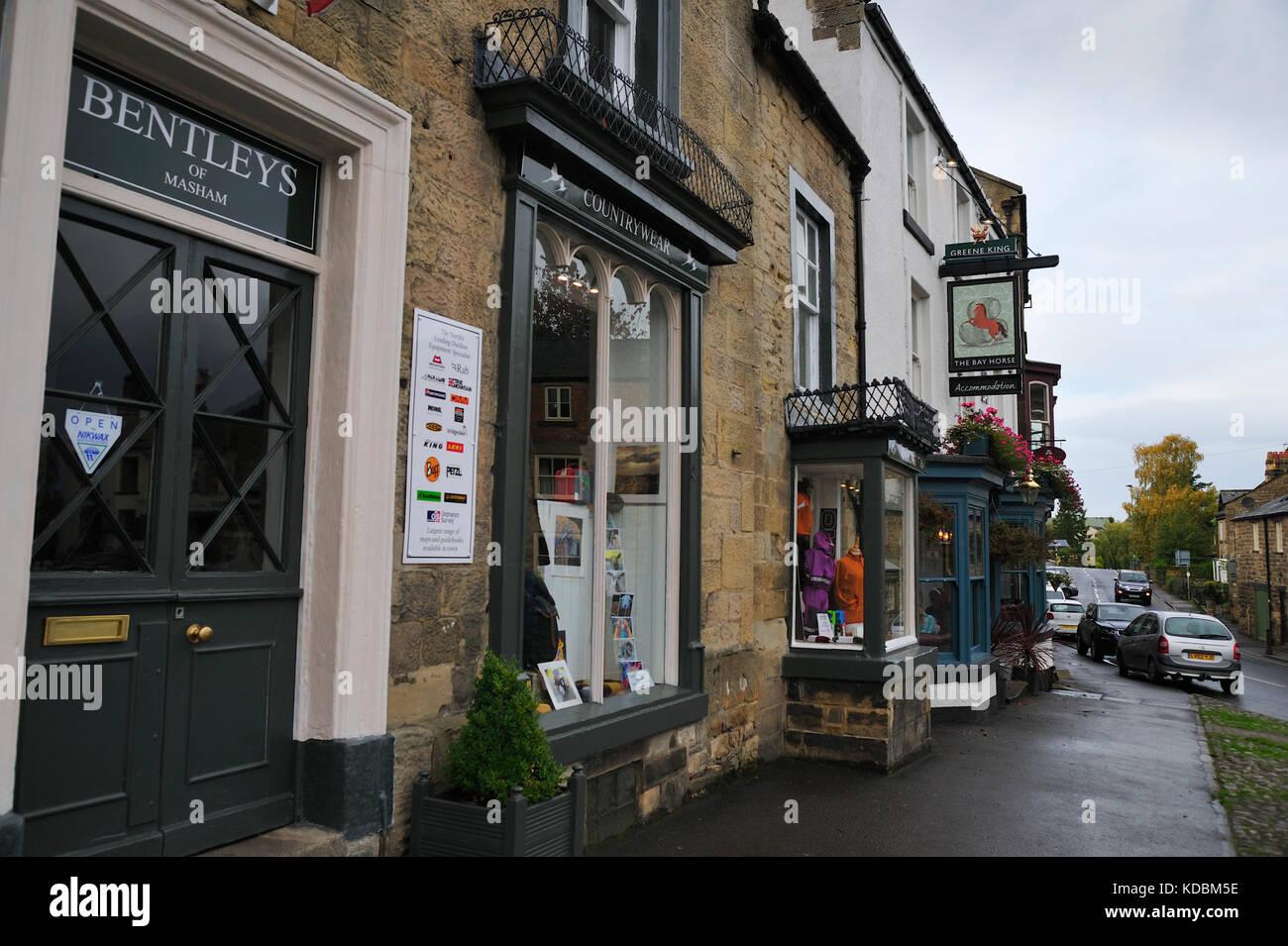 Masham North Yorkshire England UK - Stock Image