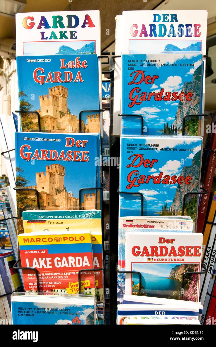 Gadget, Bardolino, Garda lake, Province of Verona, Italy - Stock Image