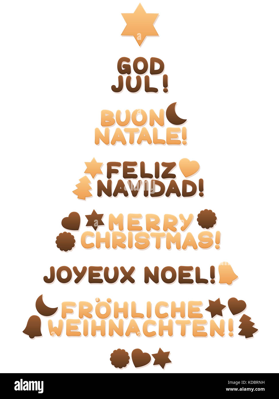 how to write merry christmas in spanish