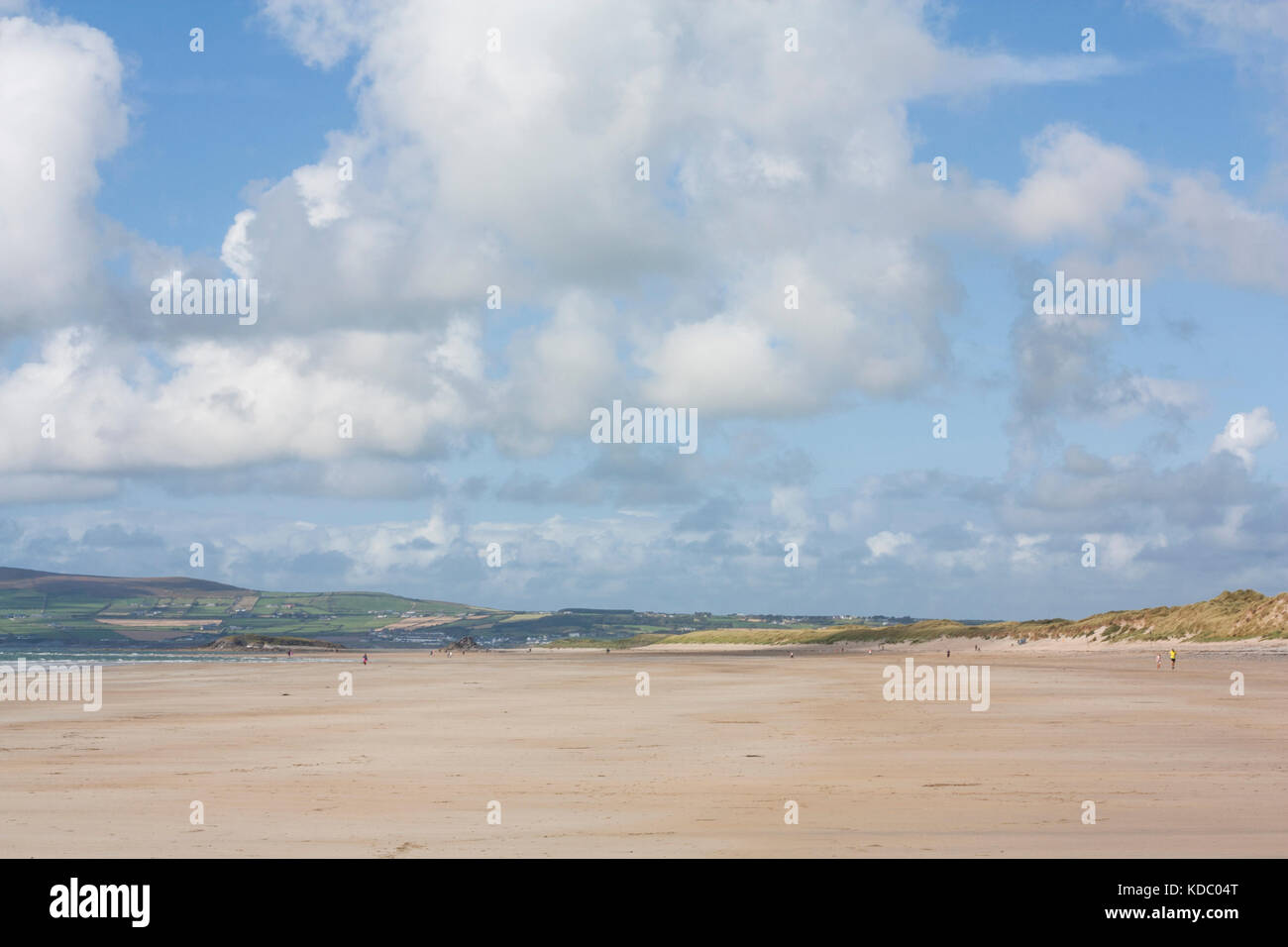 Banna beach South West Ireland - Stock Image