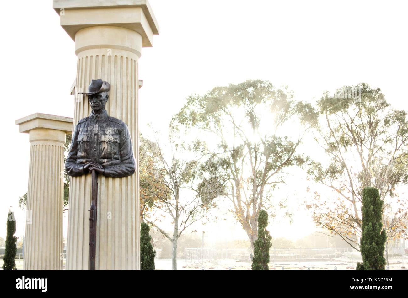 Rockingham War Memorial, Western Australia - Stock Image