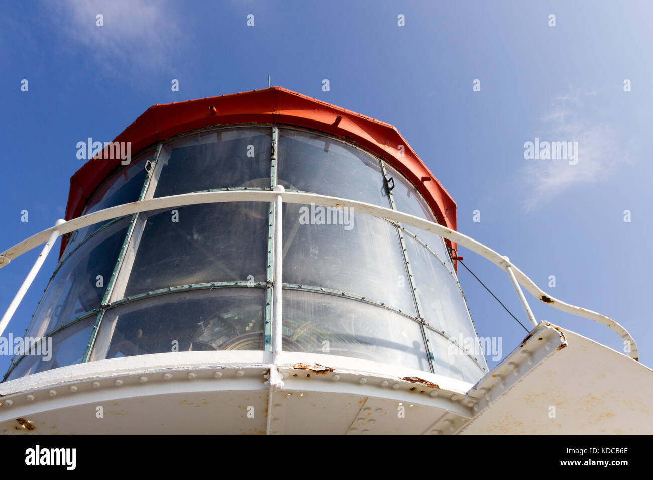 The lighthouse Långe Jan on Öland in Sweden - Stock Image