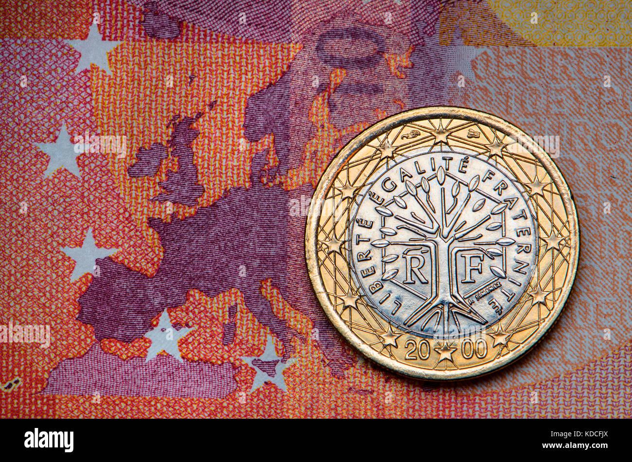 France Euro Coin Stock Photos France Euro Coin Stock Images Alamy