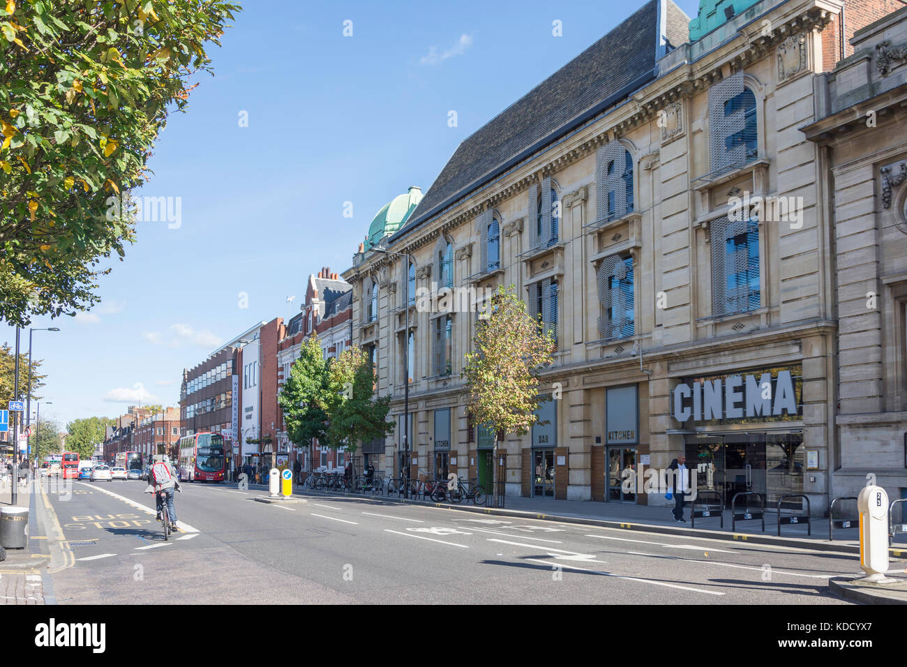Hackney Picturehouse, Mare Street, Hackney Central, London Borough of Hackney, Greater London, England, United Kingdom - Stock Image
