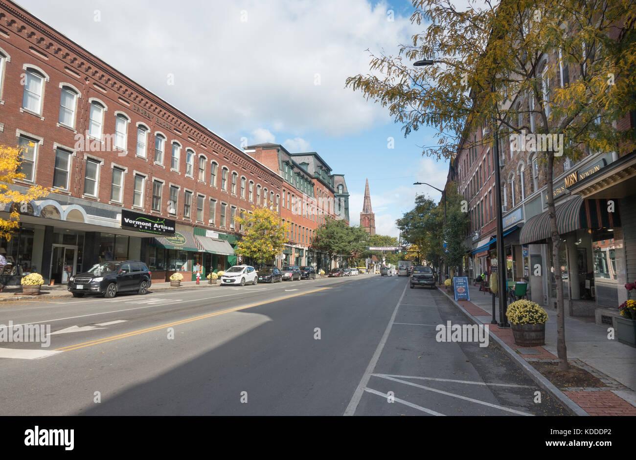 Main Street 1859 | Brattleboro vermont, Brattleboro, Vermont