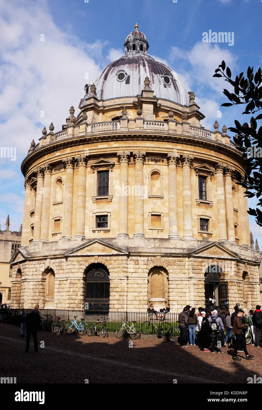Oxford Oxfordshire UK - The Radcliffe Camera building part of the Bodleian Library in the centre of the university - Stock Image