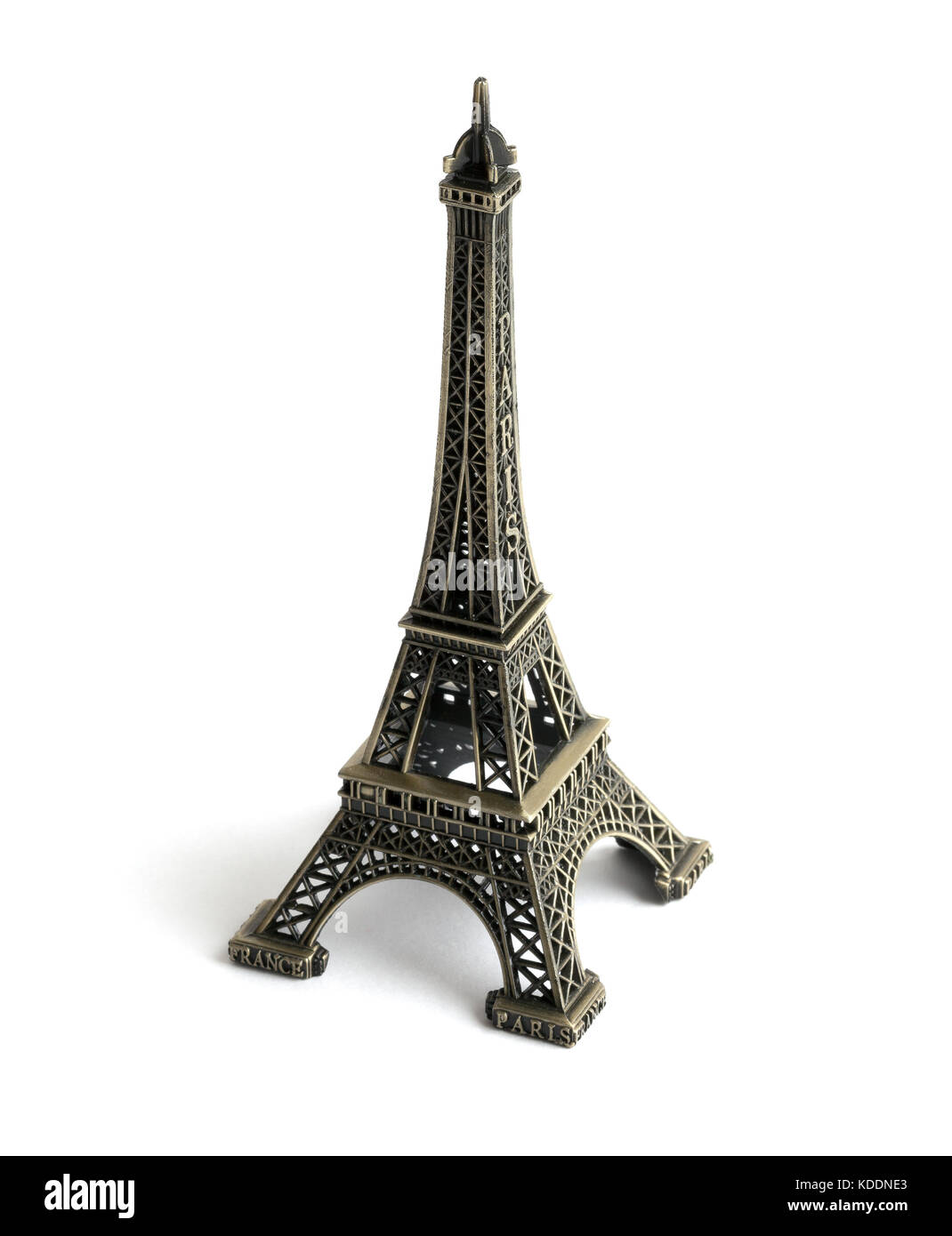 model of the Eiffel Tower - Stock Image