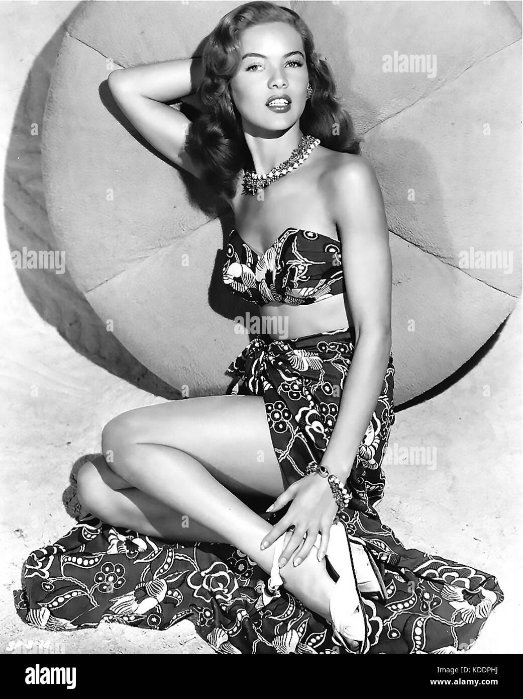DONA DRAKE (1914-1989) American film actress and singer - Stock Image