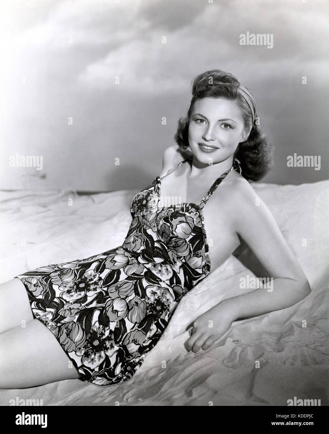 JOAN LESLIE (1925-2015) American film actress and dancer about 1942 - Stock Image