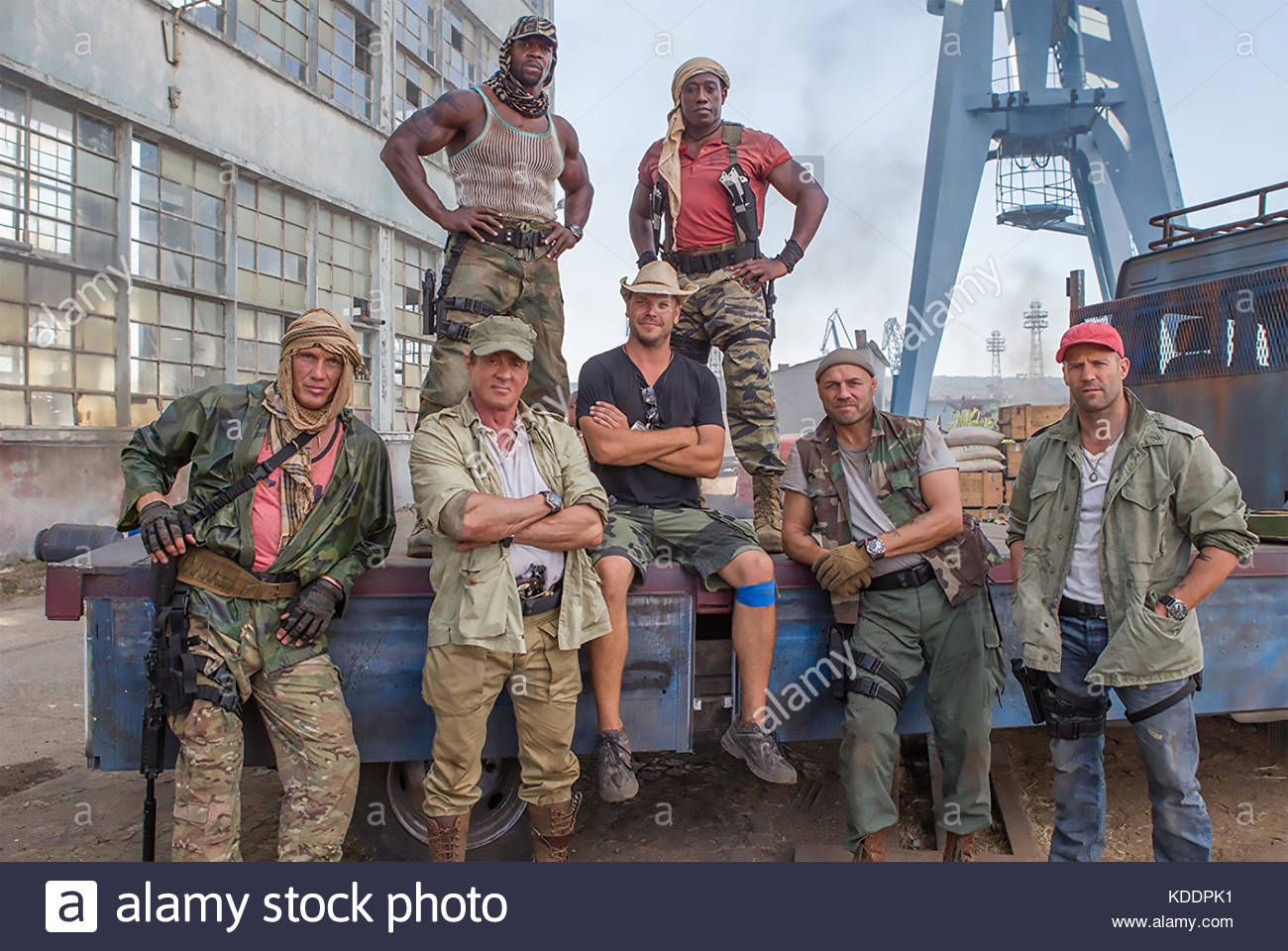 THE EXPENDABLES 3 - 2014 Lionsgate film - Stock Image