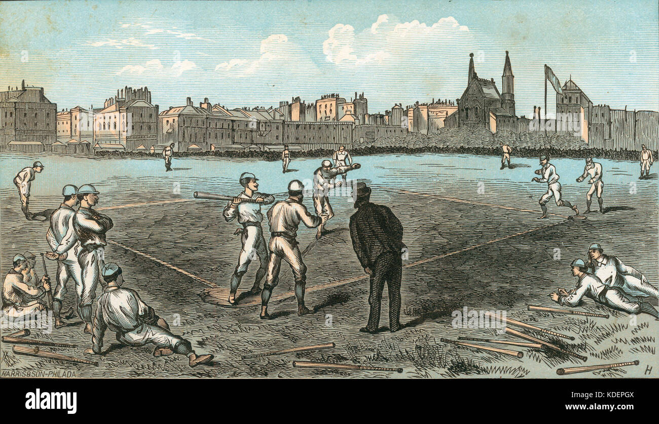 a history of baseball and the civil war The civil war begins 1866 the first womens' baseball team is started by a group from vassar college  the american baseball association, also known as the beer and whiskey league, is created.