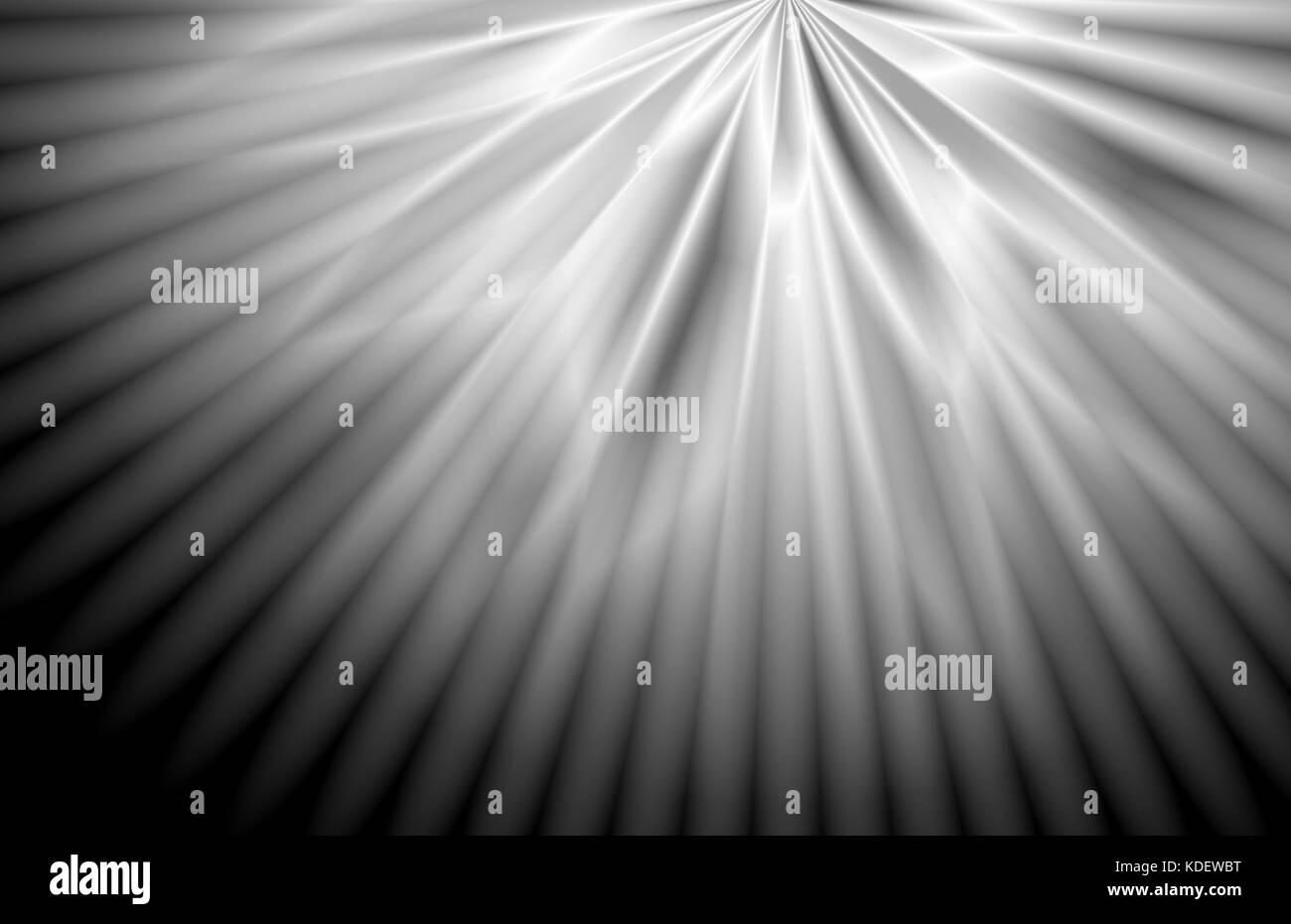 Smooth abstract silver monochrome card backdrop design Stock Photo