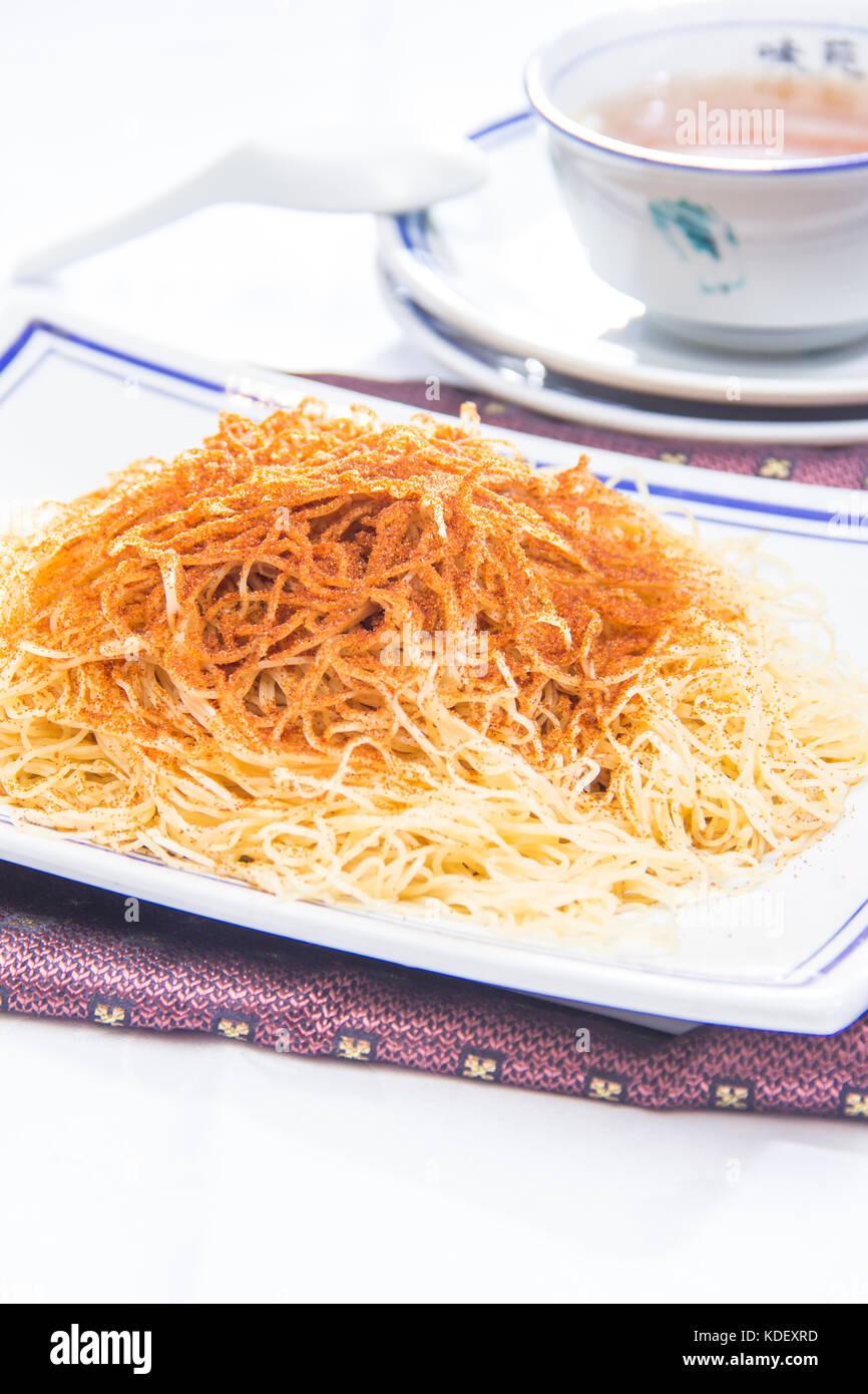 dried noodles cuisine Stock Photo