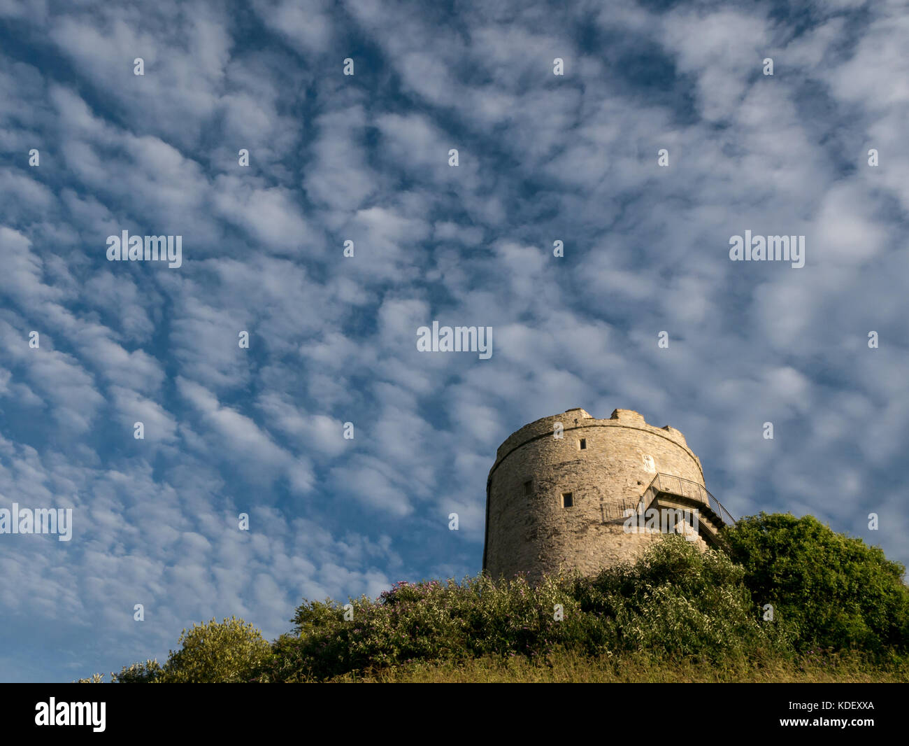 Mount Batten Tower, Plymouth Stock Photo