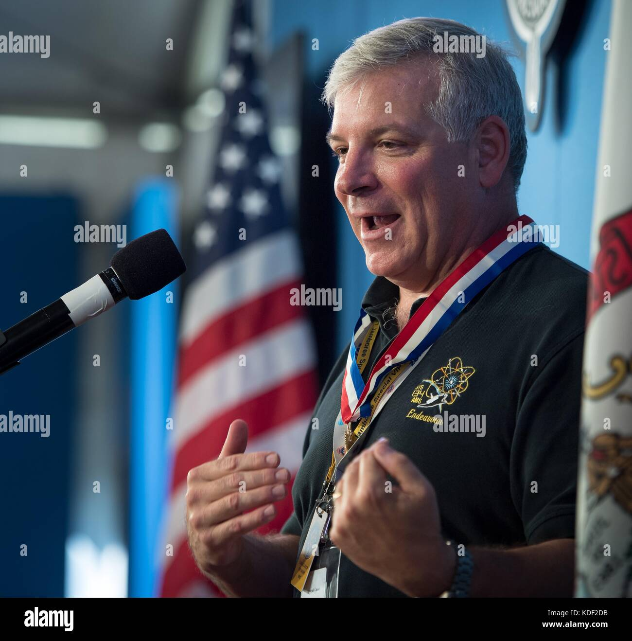 Former NASA astronaut and Center for the Advancement of Science in Space Executive Director Greg 'Box' Johnson - Stock Image