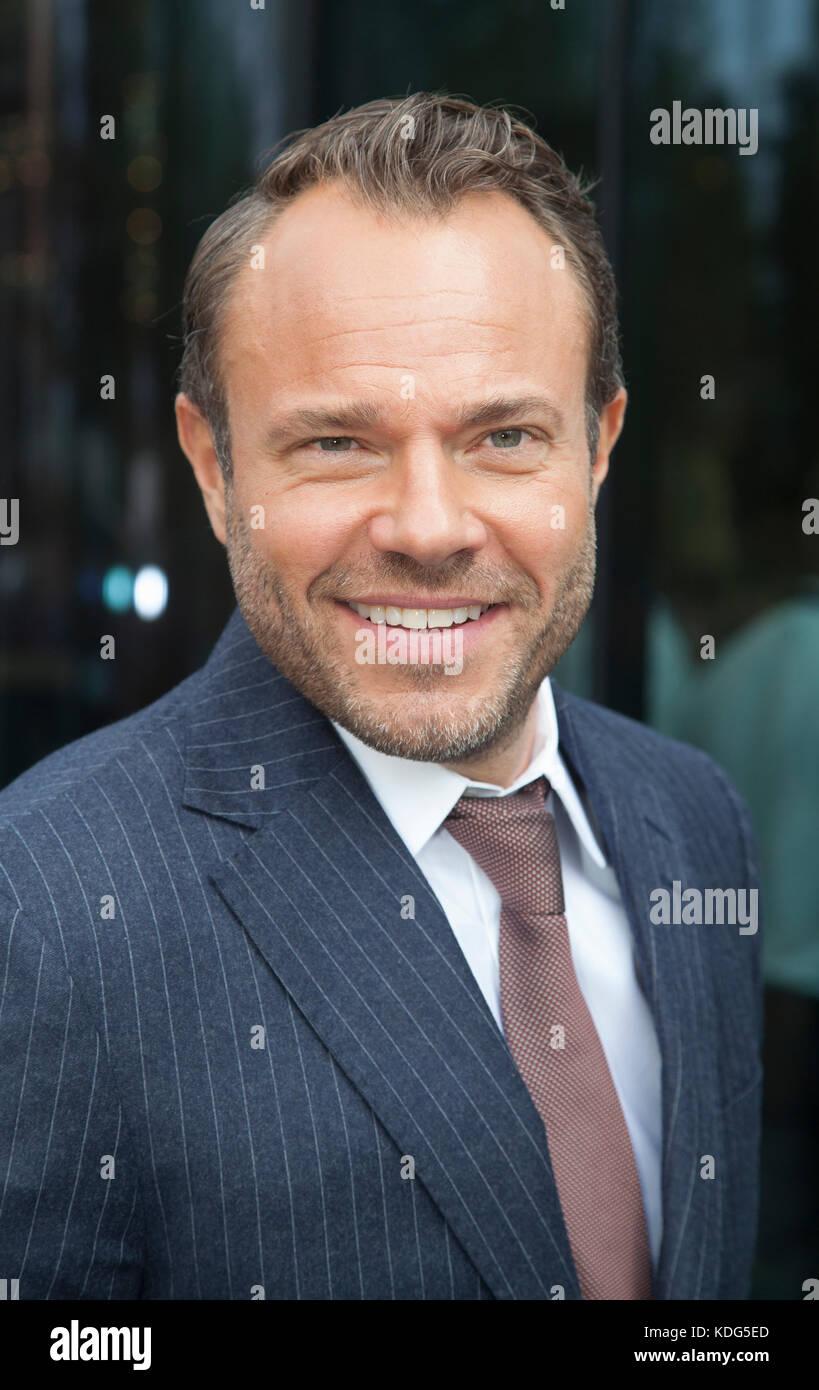 DAVID HELLENIUS SWEDISH Comedian and television presenter 2017 - Stock Image
