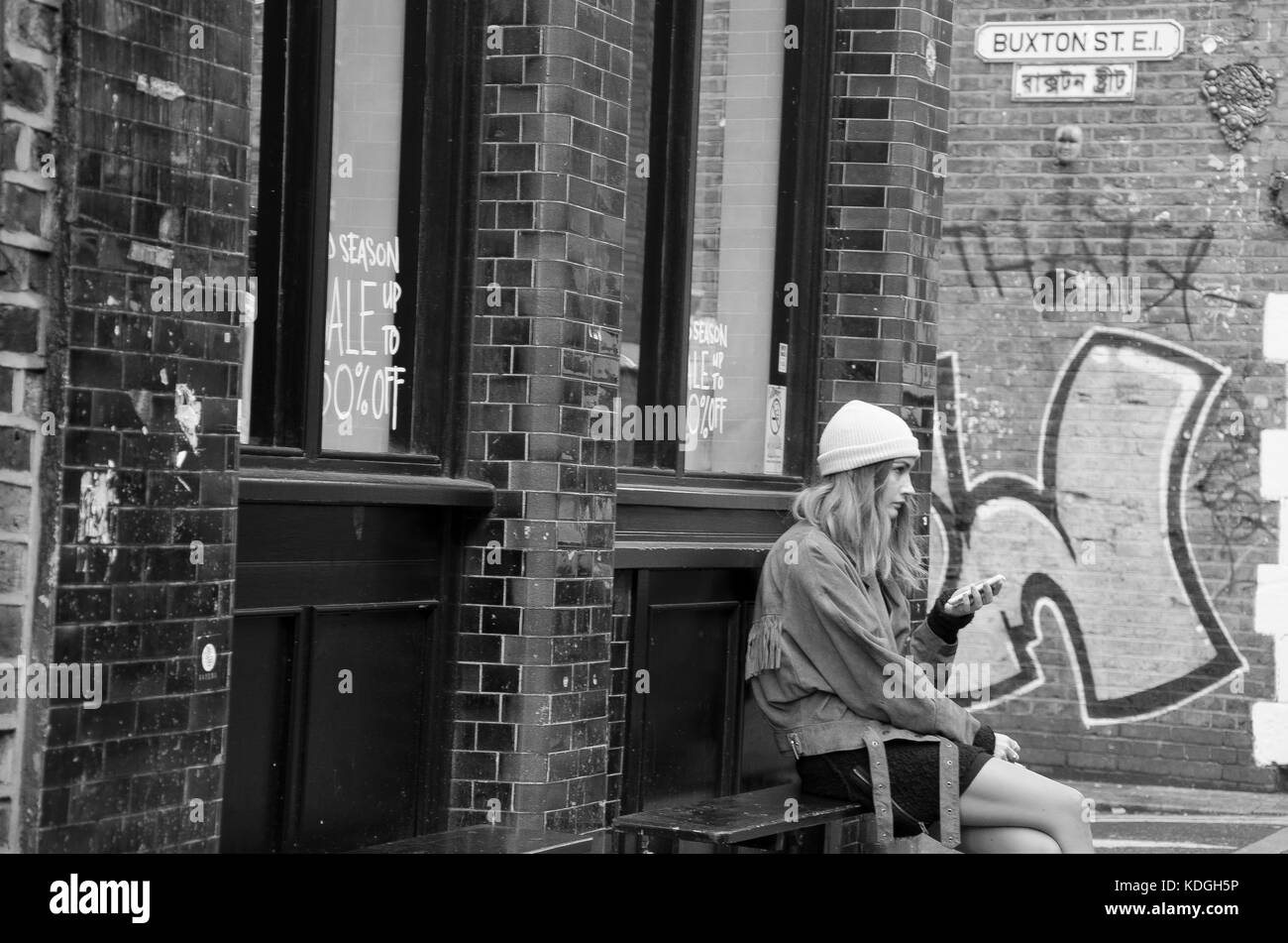 Street Photography around Camden Town and Bethnal Green. - Stock Image