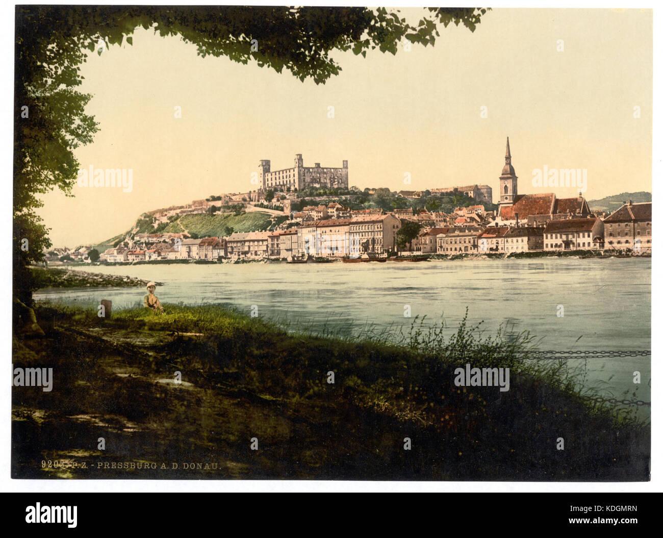Pressburg, Austro Hungary LCCN2002710888 - Stock Image