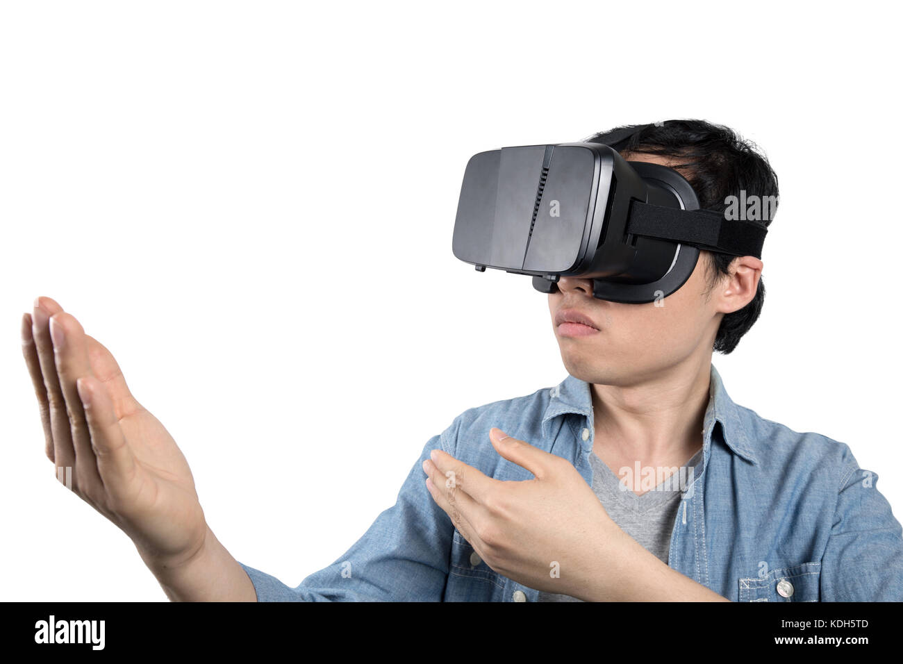 virtual reality hd asian