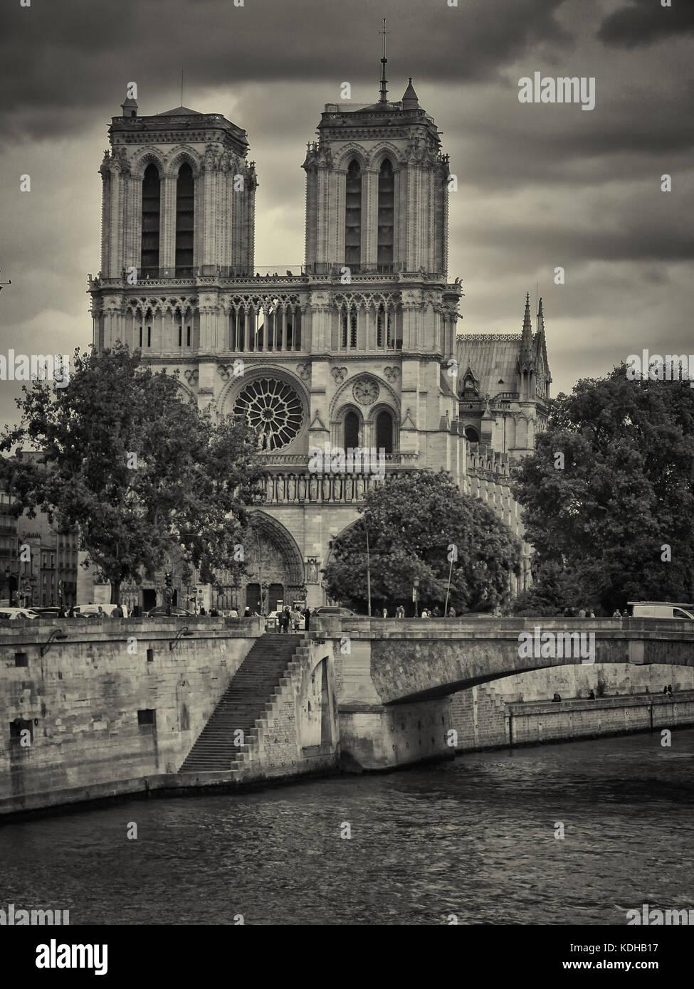 Notre-Dame de Paris, France - Stock Image