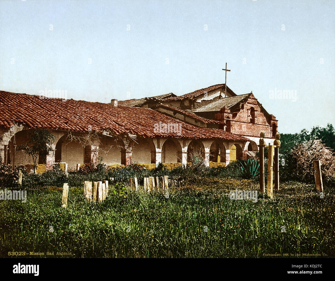 California San Antonio Padua Mission Stock Photos