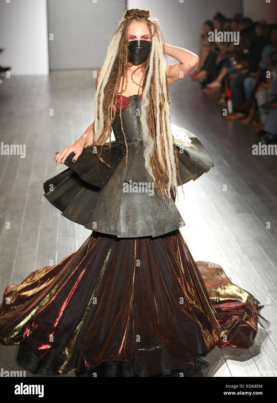 New York Fashion Week Ss 2018 Bad Butterfly Runway Featuring Stock Photo Alamy