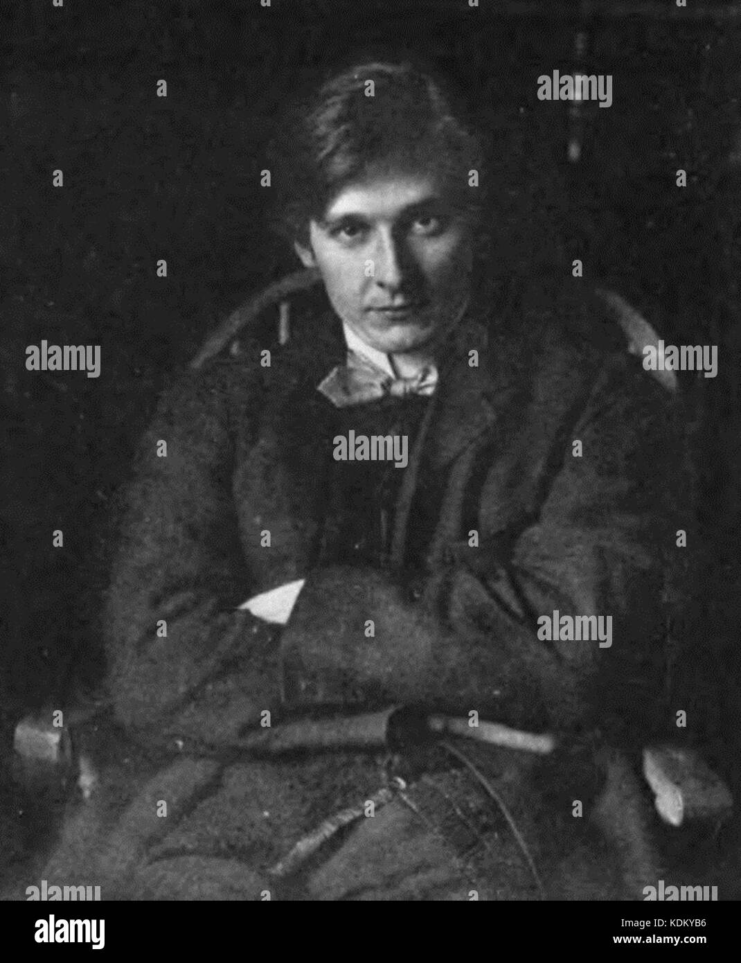 Picture of Edward Gordon Craig - Stock Image