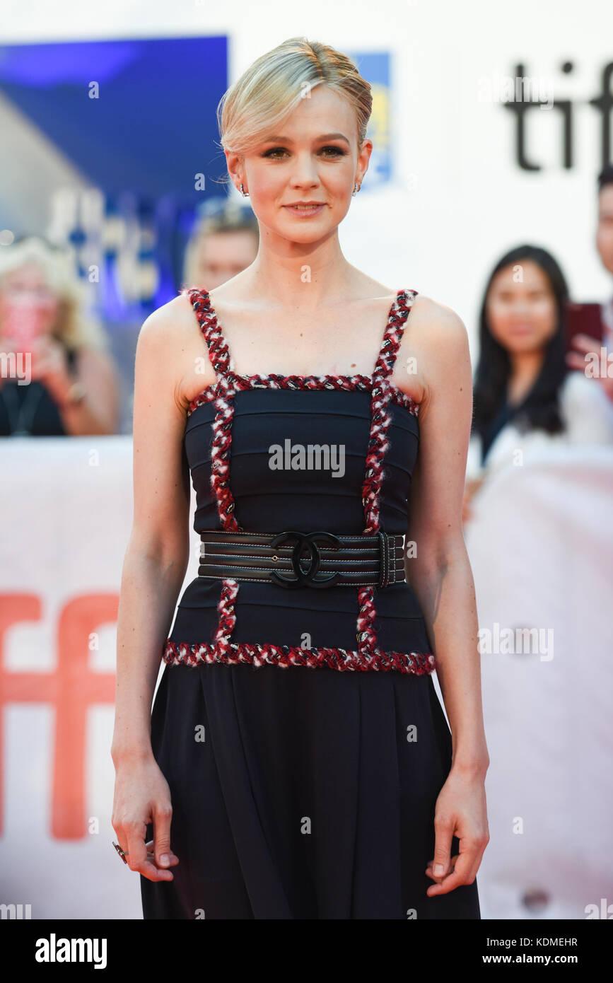 42nd Toronto International Film Festival - 'Mudbound' - Premiere  Featuring: Carey Mulligan Where: Toronto, Canada Stock Photo