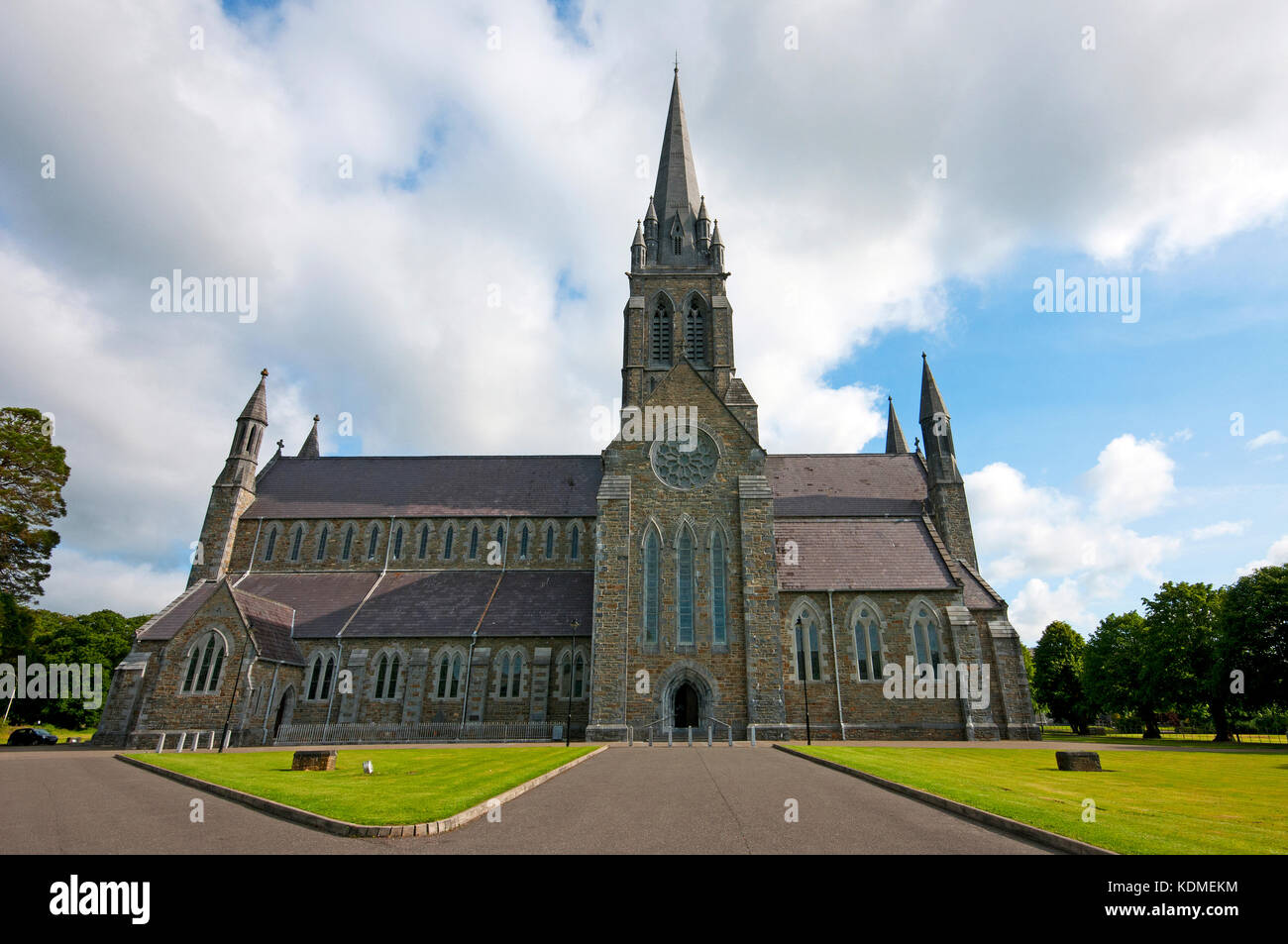 St Mary's Cathedral (1842-1855 by architect Augustus Welby Northmore Pugin), County Kerry, Killarney, Ireland - Stock Image