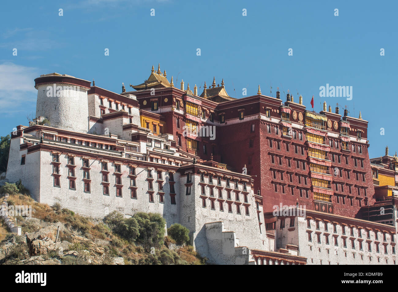 Potala Palace, Lhasa, Tibet, China - Stock Image