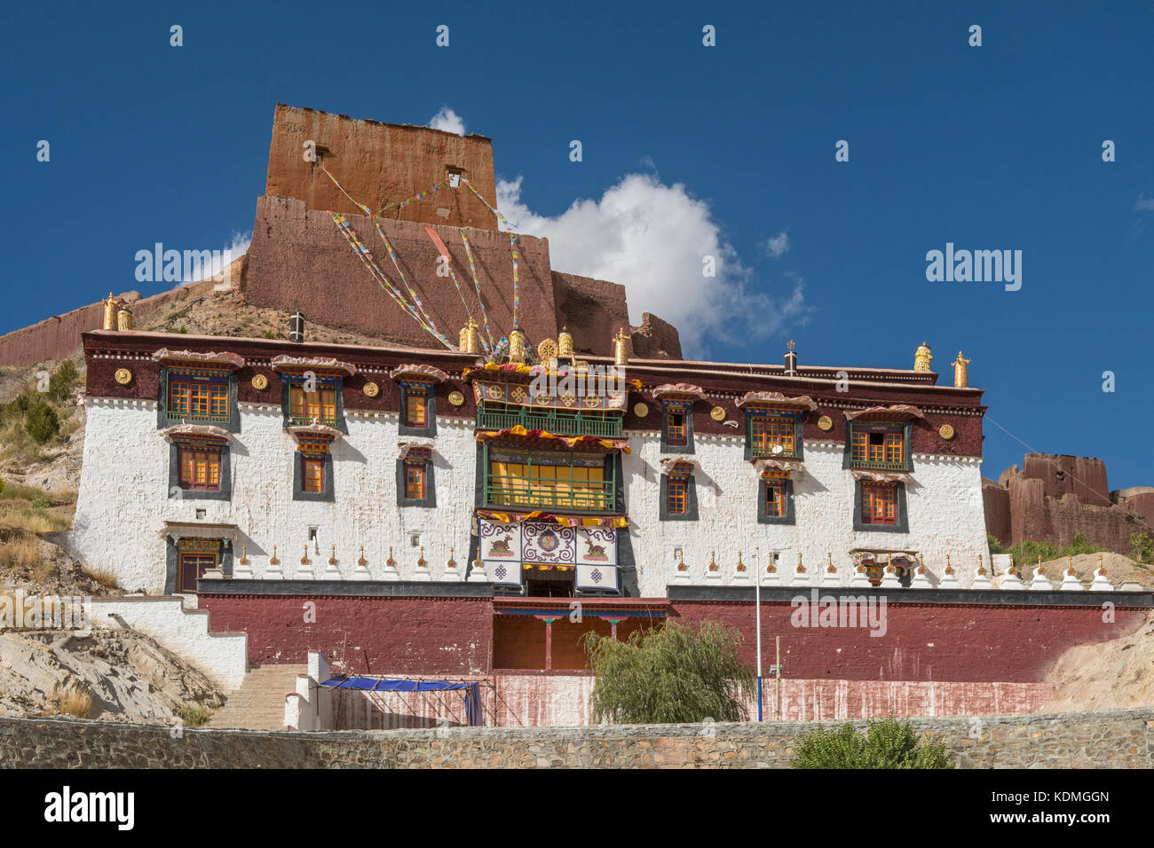 Palcho Monastery, Gyantse, Tibet, China Stock Photo