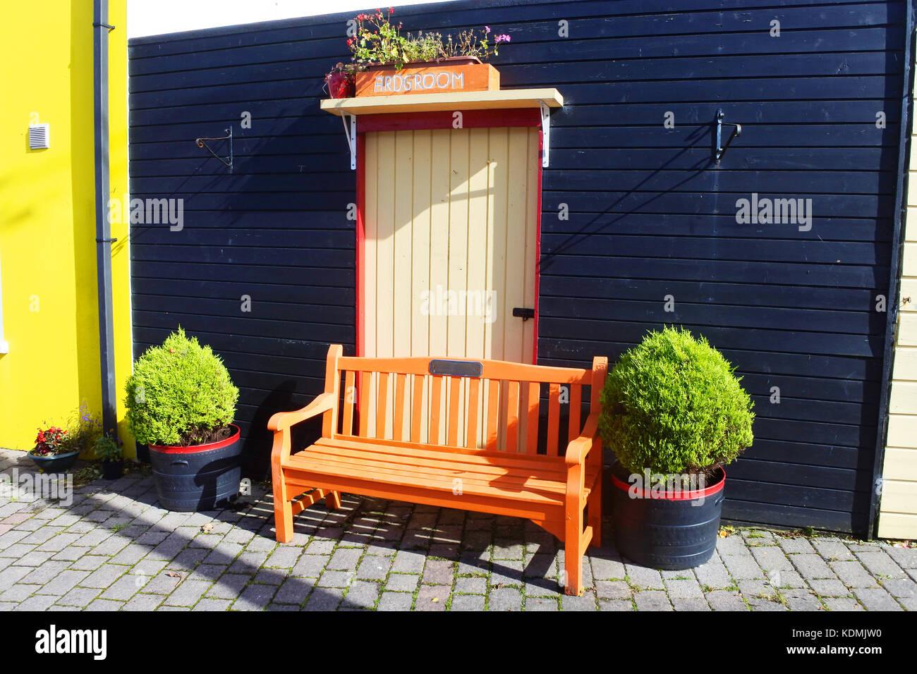 Street Furniture, Ardgroom, Ireland - John Gollop - Stock Image