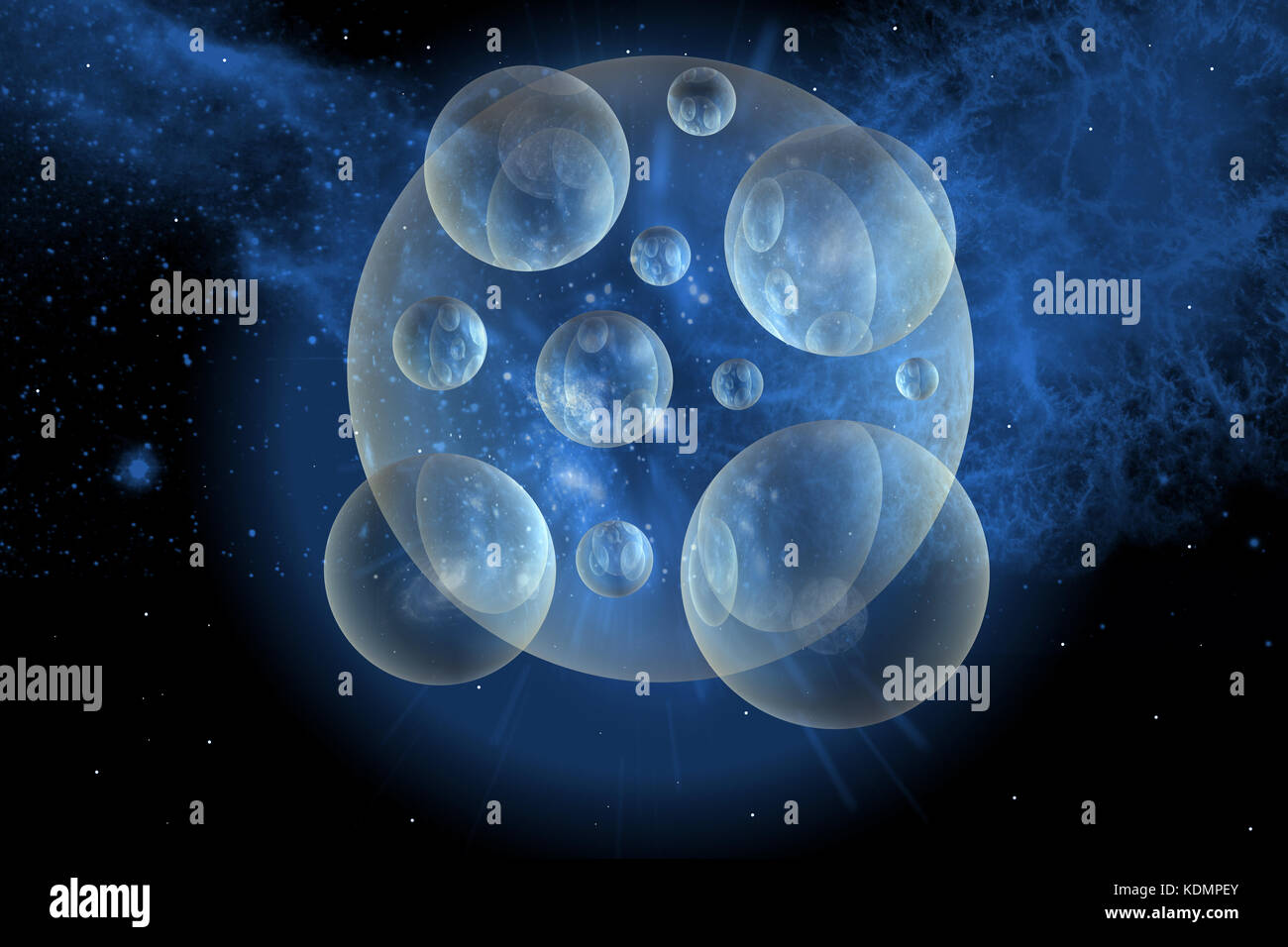 Multidimensional Universes - Stock Image