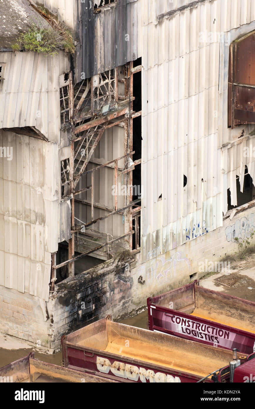 Shoreham Cement Works - Stock Image