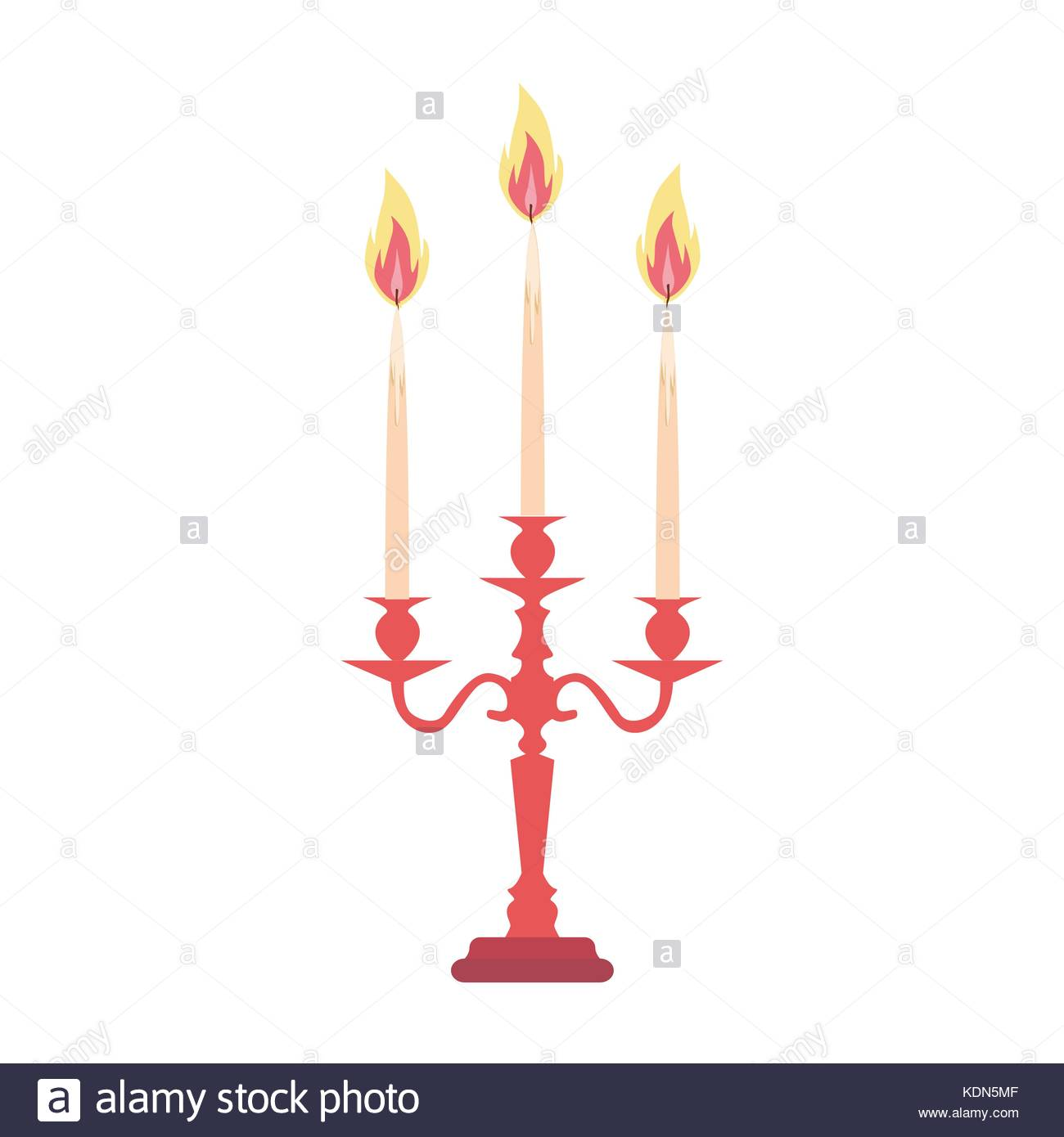 Candelabra Candlestick Chandelier Candle Vector Isolated Vintage Antique Holder Silhouette Ilration