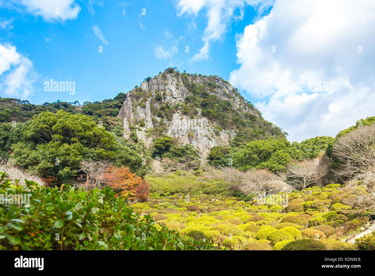 Mifuneyama Gardens in Takeo, Saga, Japan. - Stock Image