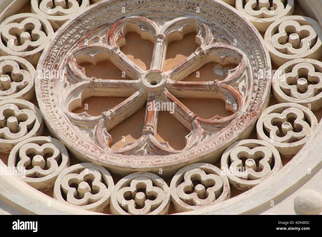 Nahaufnahme - Duomo di Portoferraio. Dom von Portoferraio Insel Elba - Italien. Italy - Stock Image