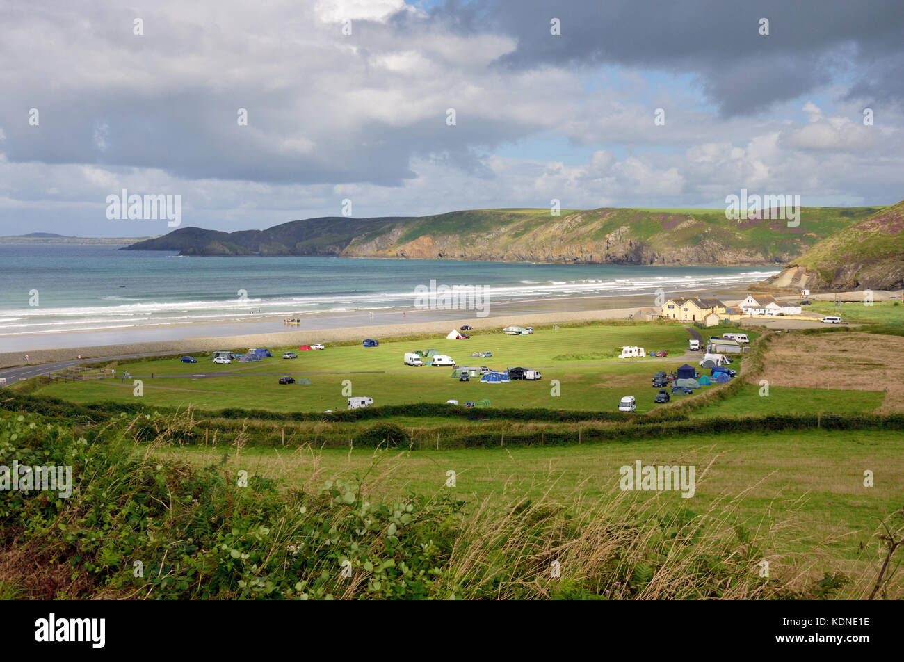 Newgale Beach Stock Photo
