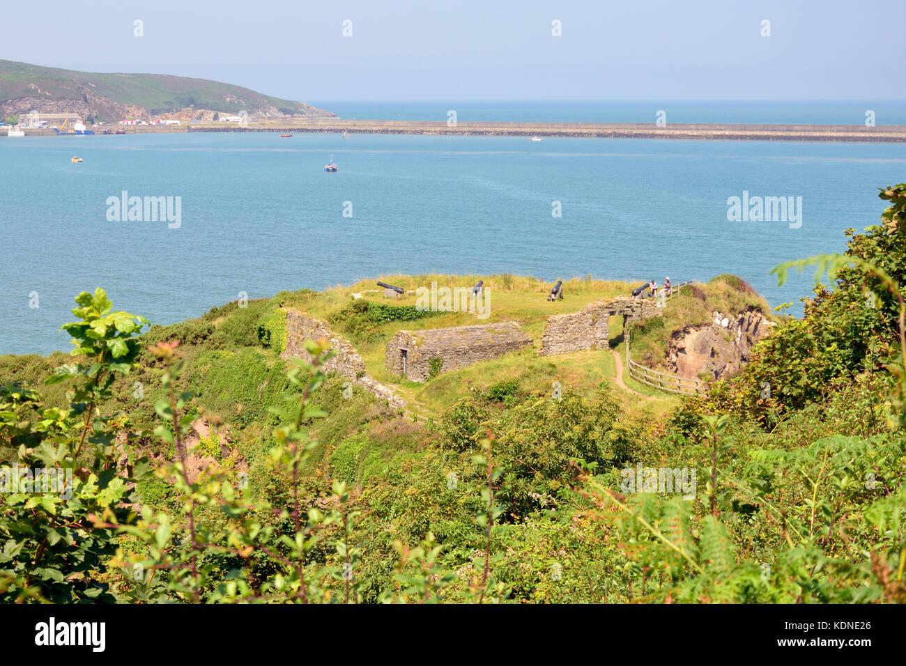 Fishguard Fort Stock Photo