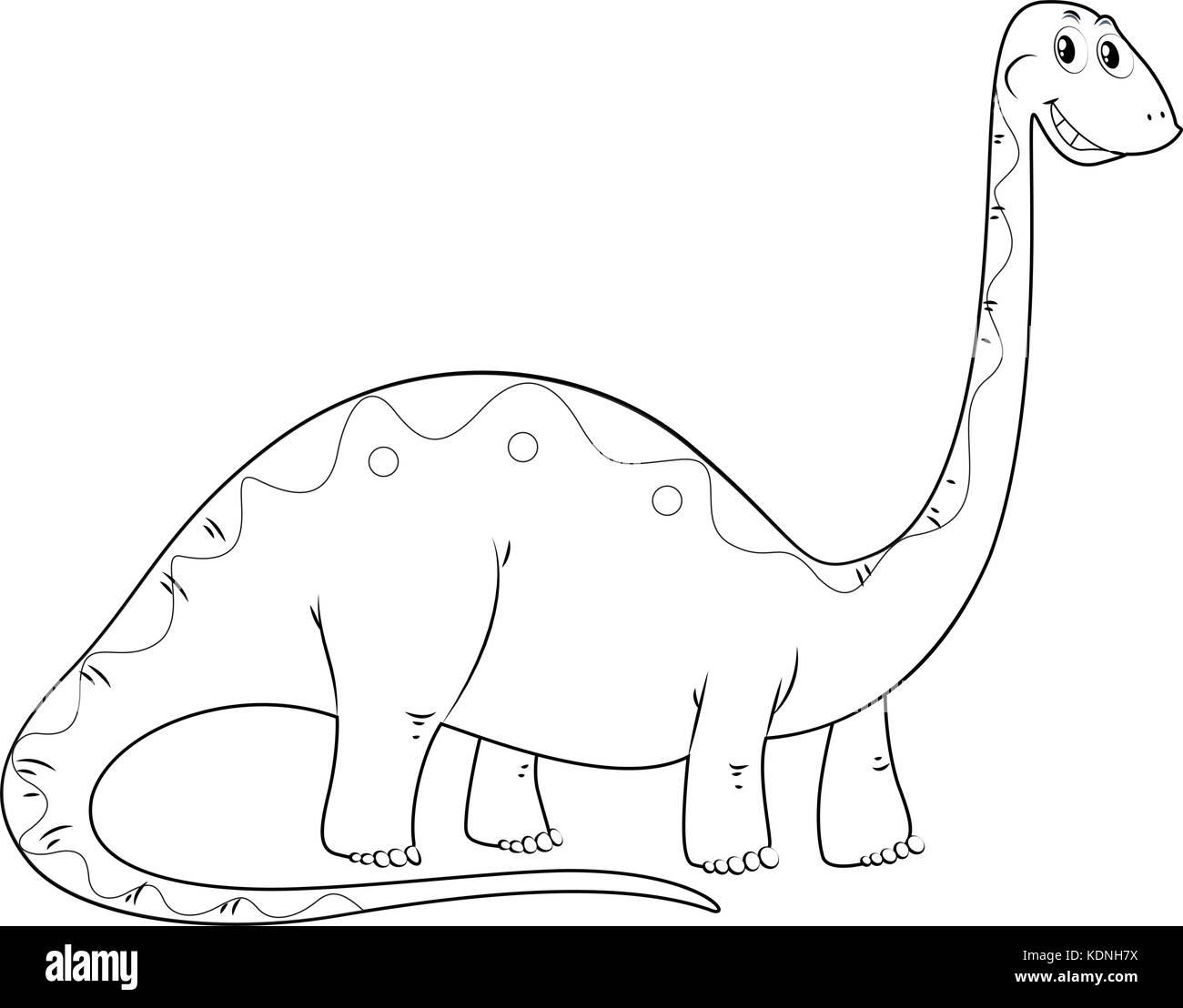 Alamosaurus Printout- ZoomDinosaurs.com Great for preschool and ... | 1108x1300