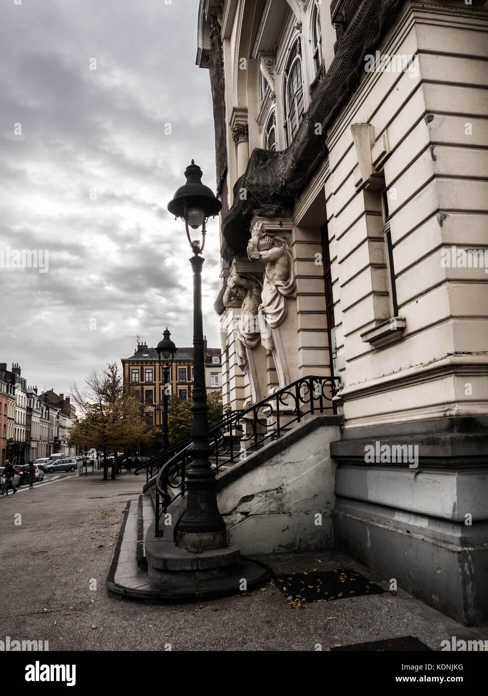 Theatre Sebastpol, Lille - Stock Image