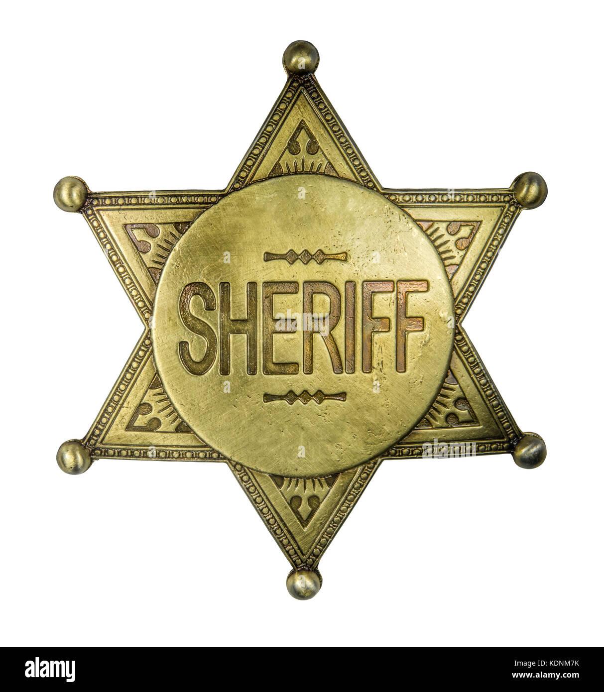 Sheriff badge stock photos sheriff badge stock images - Fbi badge wallpaper ...