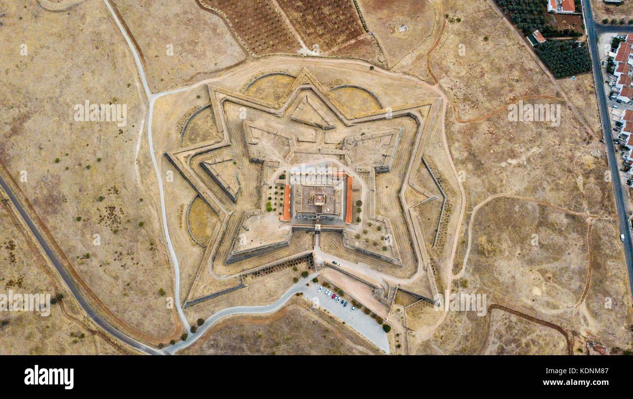 Forte de Santa Luzia, Elvas, Portugal Stock Photo