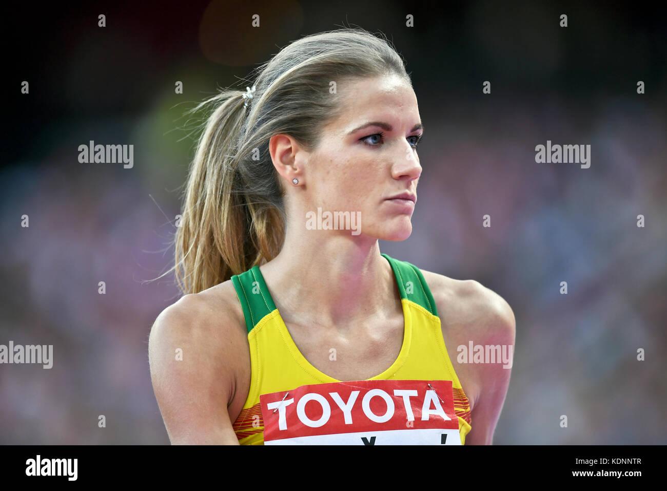 Airin Palyt - High Jump - IAAF World Championships London 2017 - Stock Image
