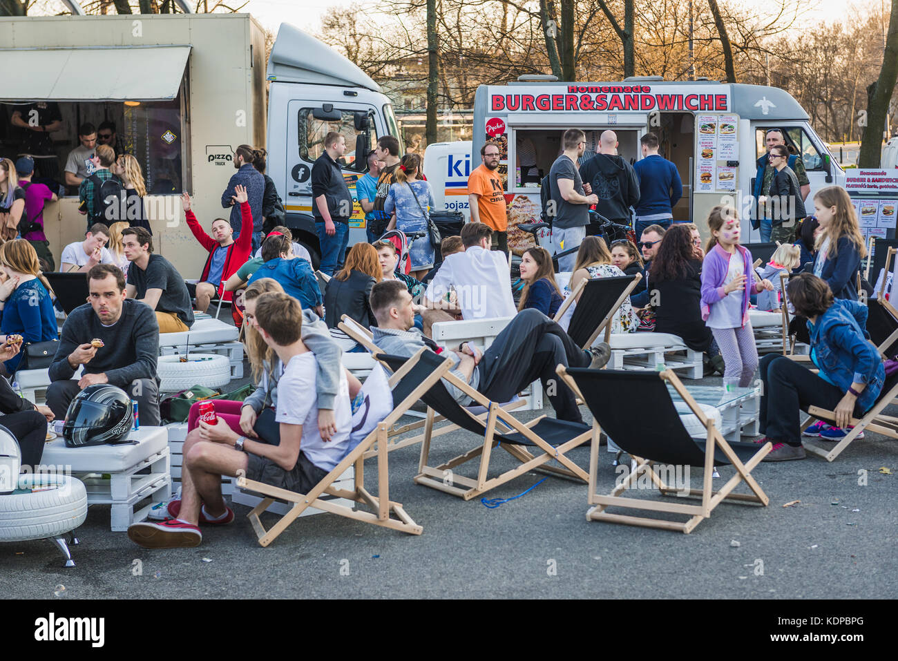 Pizza Booth High Resolution Stock Photography And Images Alamy