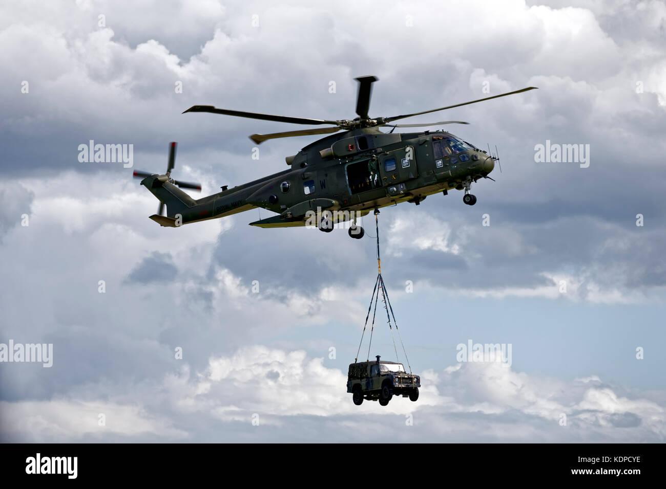 AgustaWestland Merlin HC.3  ZJ137  C/N 50195 - Stock Image