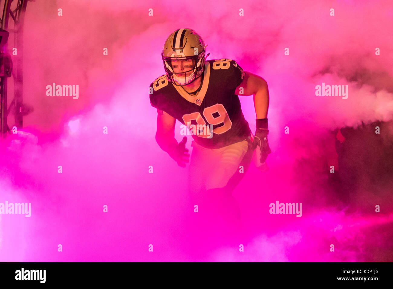 finest selection 226c6 d6b85 October 15, 2017 - New Orleans Saints tight end Josh Hill ...